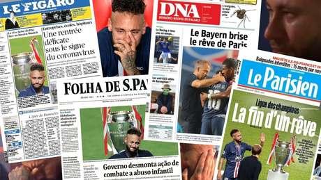 Falem mal, mas falem de mim: Neymar monopoliza a imprensa mundial