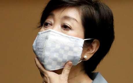 Governadora de Tóquio, Yuriko Koike 10/07/2020 REUTERS/Issei Kato