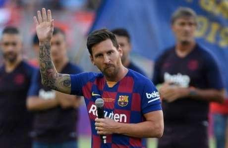 Messi pode dar adeus ao Barcelona (Foto: AFP)