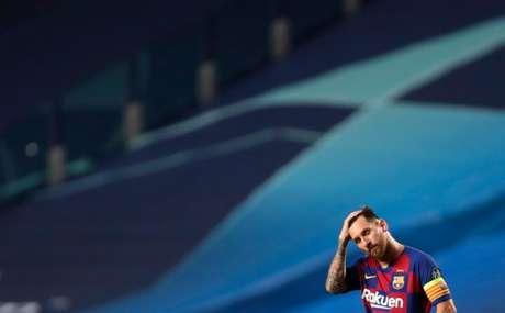 Lionel Messi não acredita em projeto esportivo do Barcelona (AFP)