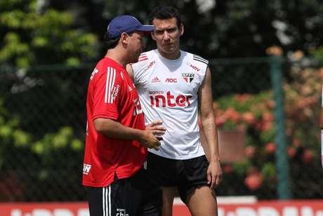 Pablo é um dos jogadores que mais elogiam Fernando Diniz - FOTO: Rubens Chiri/saopaulofc.net