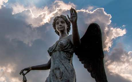 Estatua de anjo