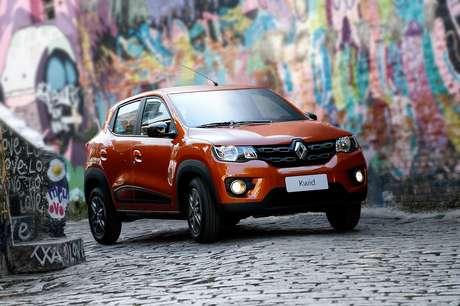 Renault Kwid: aumento de 10,6% nos preços de novembro, segundo o KBB Brasil.