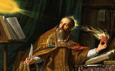 Confie no poder divino de Santo Agostinho -