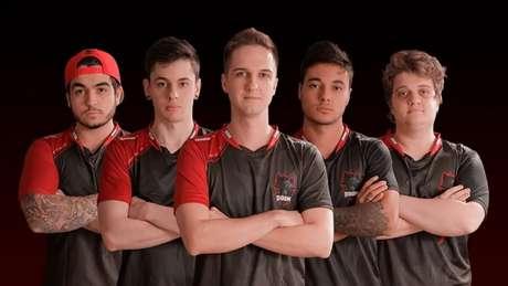 Equipe BOOM Esports, dos jogadores chelo, shz, yeL, felps e boltz, é uma das semifinalistas (Crédito: Divulgação)