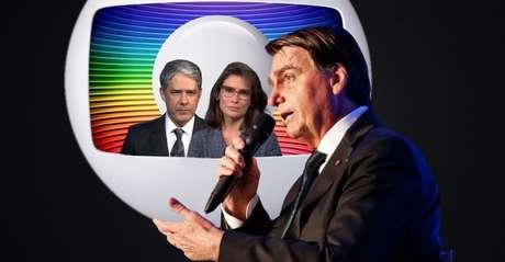 A discórdia entre Bolsonaro e o canal de maior audiência da televisão brasileira ganha maior dimensão a cada dia