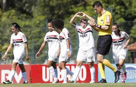 São Paulo soma dez pontos no Campeonato Brasileiro (Anderson Rodrigues/saopaulofc.net)