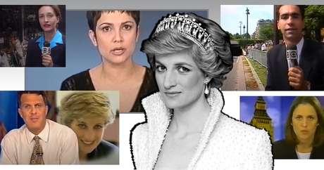 Globo mobilizou seus âncoras e correspondentes na cobertura do adeus à Princesa do Povo