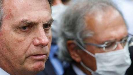 Bolsonaro fez anúncio logo após divulgação de queda histórica do PIB do Brasil, de 9,7% no 2º trimestre