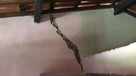 O abalo mais forte registrado na cidade de Amargosa ocorreu no sábado. Ele atingiu 4.6 na Escala Richter
