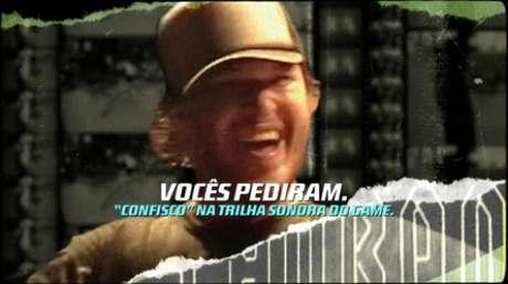 Música do Charlie Brown Jr. está na trilha sonora do game (Imagem: divulgação)