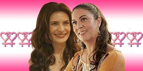 Leila (Arieta Corrêa) e Penha (Clarissa Pinheiro): paixão nascida entre golpes e ameaças