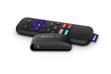 O Roku Express (à frente) possibilita que um televisor comum se conecte à internet e acesse um catálogo de serviços on demand
