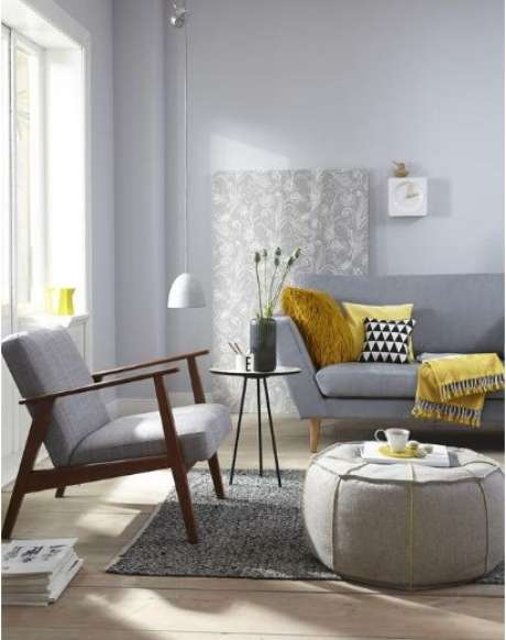 53. Sala de estar com mesa pé palito – Via> Hotmant