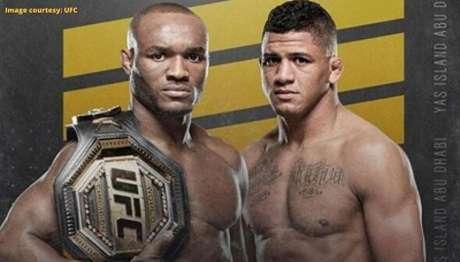 Disputa de cinturão entre Usman e Durinho poderá ser realizada em dezembro (Foto: Divulgação/UFC)