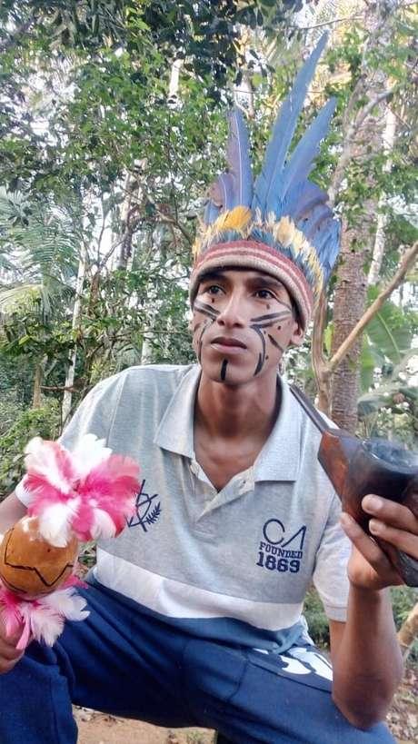 Kunumí MC é o nome artístico do guarani Werá Jeguaka Mirim