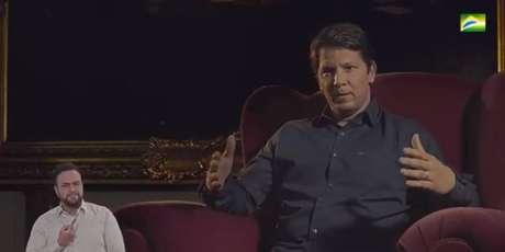 Filme publicitário é estrelado pelo secretário especial da Cultura, o ator Mário Frias