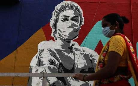 Índia ultrapassou a marca dos 4 milhões de infectados pela Covid-19