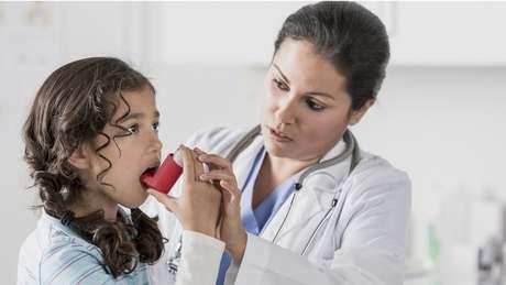 O objetivo dos inaladores era levar o medicamento aos pulmões em maior quantidade e mais rápido