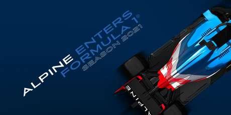 Tudo novo em 2021: a Renault vai se chamar Alpine, que vem com novas cores na próxima temporada da F1