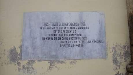 O príncipe tinha uma comitiva de 30 homens e um roteiro pré-determinado, com paradas estratégicas ao longo da rota até São Paulo