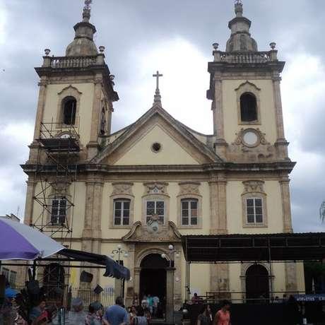 Antiga Igreja de Aparecida, por onde Dom Pedro passou