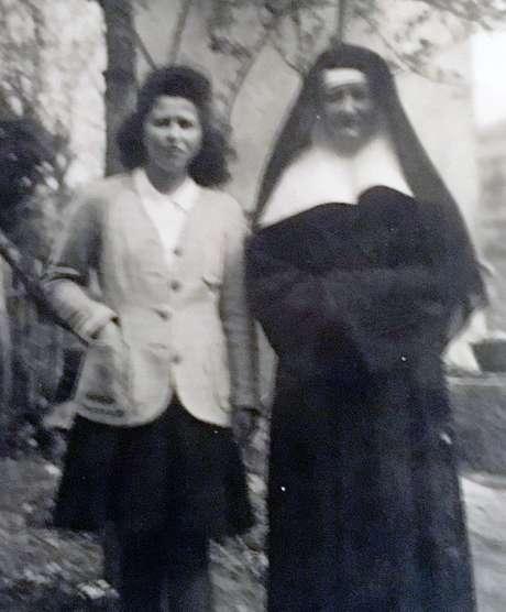 Annie e irmã Denise