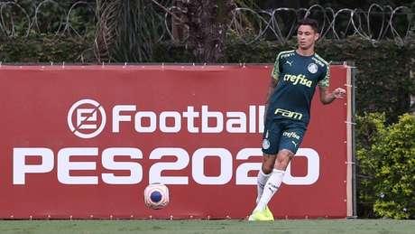 Diogo Barboso vai jogar no Grêmio (Agência Palmeiras/Divulgação)