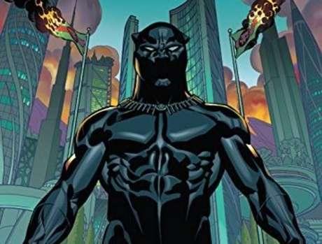 Parte da capa da HQ 'Pantera Negra', de 2016, que foi escrita por Ta-Nehisi Coates e está disponível para download gratuito