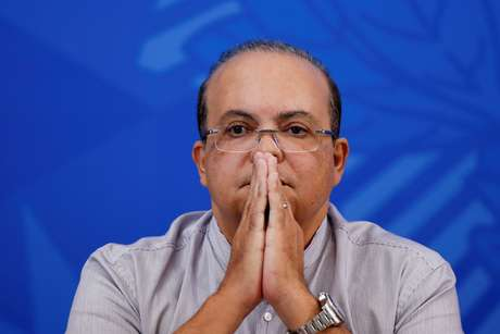 Governador do Distrito Federal, Ibaneis Rocha  22/04/2020 REUTERS/Ueslei Marcelino