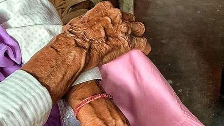 A senhora de 86 foi estuprada em uma fazenda em Deli nesta semana