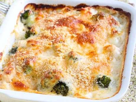 Brócolis com queijo