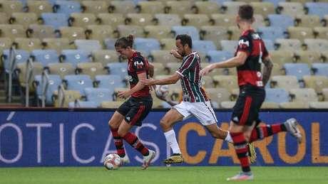 Fluminense e Flamengo se enfrentaram cinco vezes neste ano (Foto: LUCAS MERÇON / FLUMINENSE F.C.)