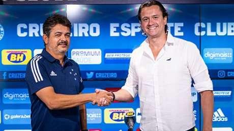 Ney Franco fica no Cruzeiro até o fim de 2021-(Bruno Haddad/Cruzeiro)