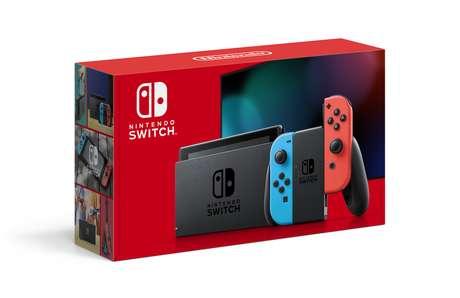 Console será vendido em duas opções de cores: tradicional (vermelho e azul) e cinza escuro