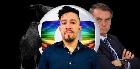 Wyllys é um crítico ferrenho tanto da Globo quanto de Bolsonaro