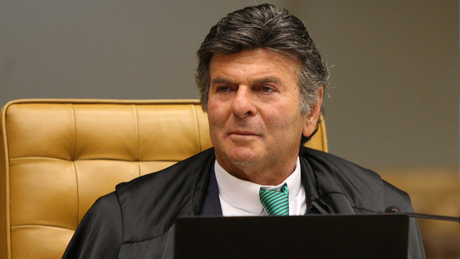 O ministro Luiz Fux assume na quinta-feira a presidência do Supremo Tribunal Federal
