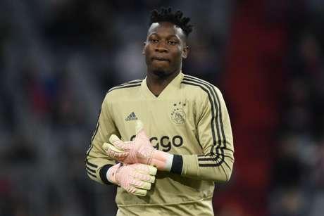 Até o momento, Onana fez 178 partidas pelo Ajax , mantendo o gol do Johan Cruyff Arena invicto por 74 vezes (Foto: AFP)