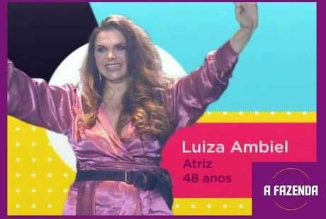 Luiza Ambielé uma dasparticipantesde'A Fazenda 12'em2020.