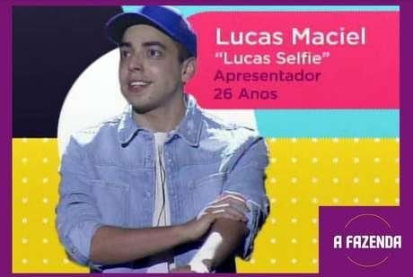 Lucas Maciel, o 'Lucas Selfie' é um dosparticipantesde'A Fazenda 12'em2020.
