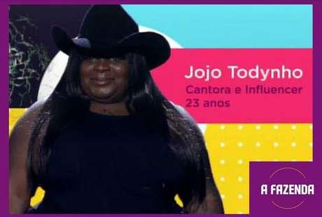 Jojo Todynhoé uma dasparticipantesde'A Fazenda 12'em2020.