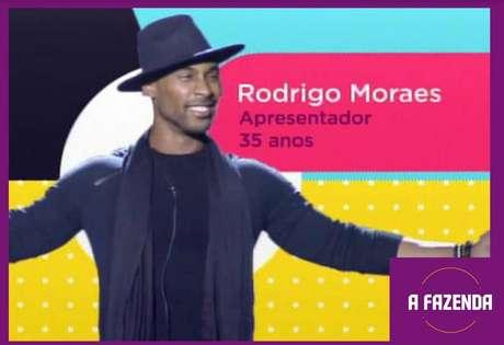 Rodrigo Moraesé um dosparticipantesde'A Fazenda 12'em2020.