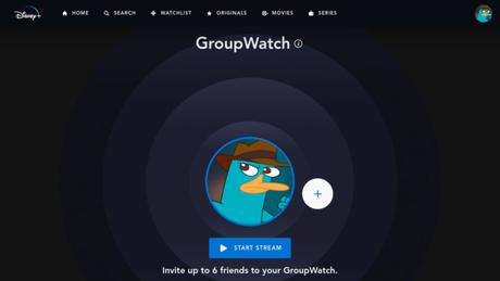 Limite de participantes é visto em prints do GroupWatch no Disney+. (Imagem: Reprodução/SonicTheOWTHEEGE)
