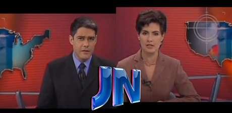William Bonner e Fátima Bernardes: edição especial do JN naquele terrível 11 de setembro teve 1 hora de duração