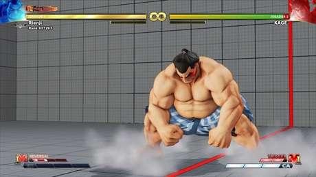 3 truques com o Honda em Street Fighter V / Reprodução / Felipe Vinha