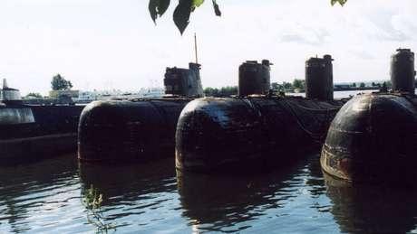 O K-159 é um dos muitos submarinos soviéticos que ainda estão presentes nas águas do Ártico