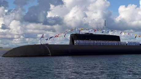 Pelo menos mais oito submarinos nucleares serão adicionados à Frota do Norte, enquanto os restos da frota nuclear soviética estão no fundo do mar
