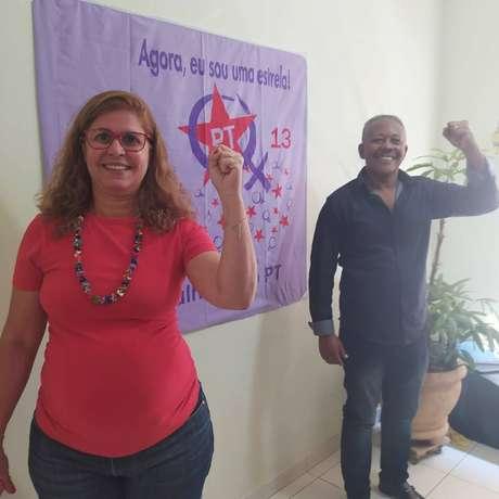 A sindicalista Celi Regina e o ex-agente penitenciário e escritor João Alfredo são os candidatos a prefeita e vice do PT.