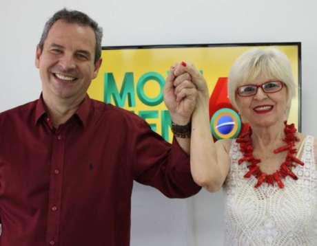 PCdoB oficializa chapa pura, com Carlos Alexandre de candidato e Merli Diniz como vice.