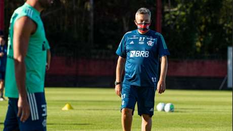 Dome tenta manter a qualidade da equipe, mesmo em meio a mudanças (Alexandre Vidal / Flamengo)